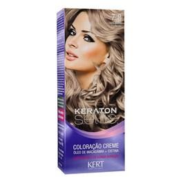 Coloração Keraton Selfie 50 gr Louro Médio Pérola 7.8