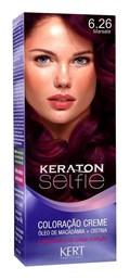 Coloração Keraton Selfie 50 gr Marsala 6.26