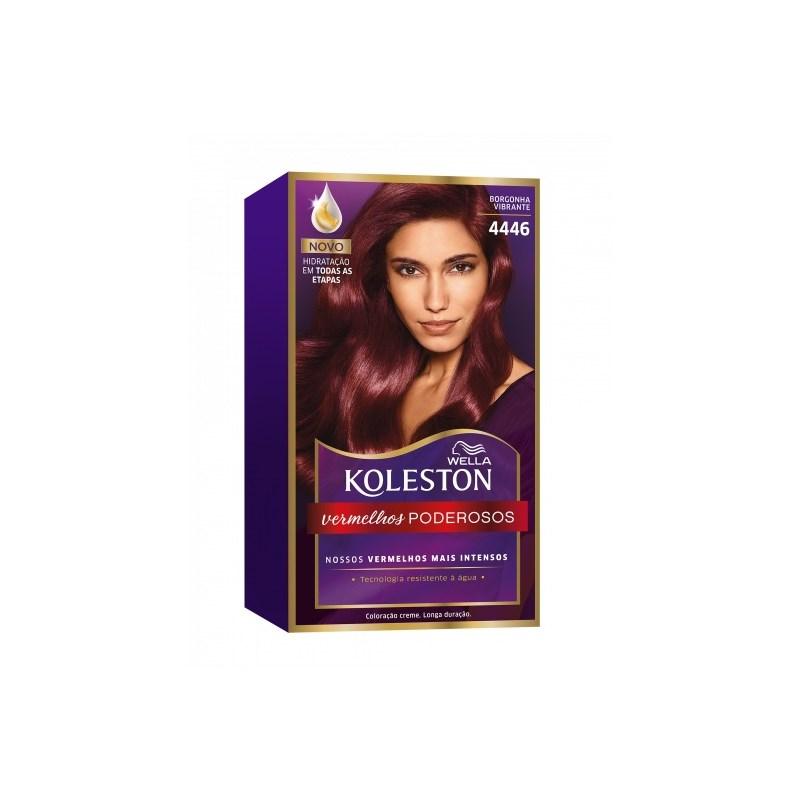 Coloração Koleston Borgonha Vibrante 4446
