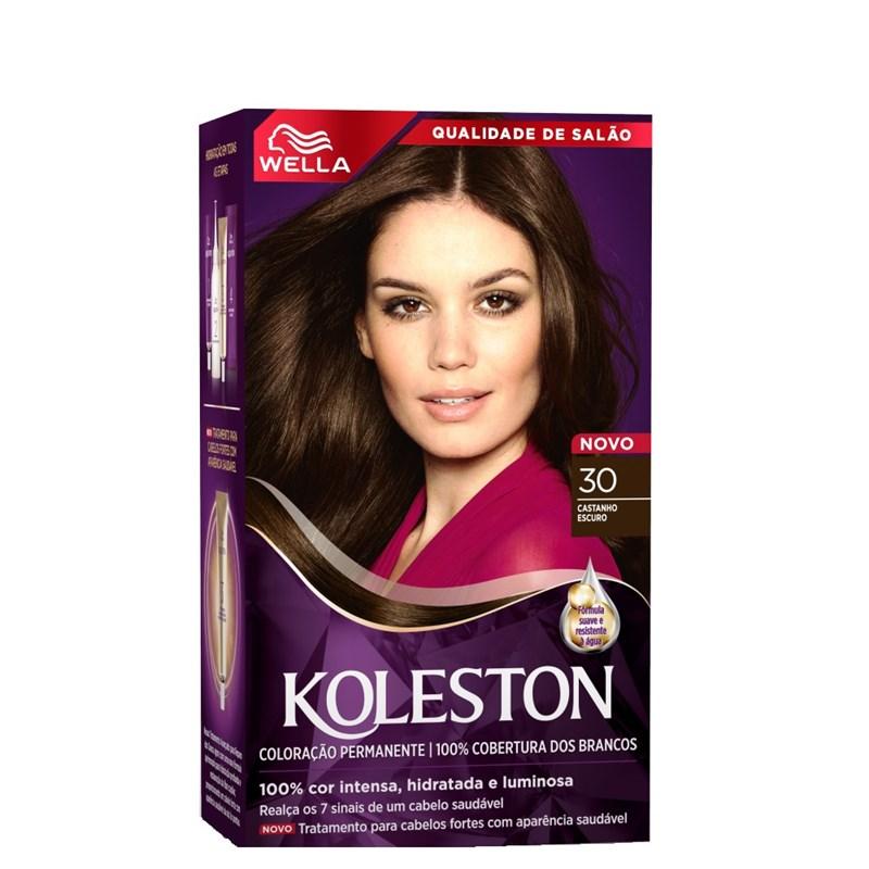 Coloração Koleston Castanho Escuro 30
