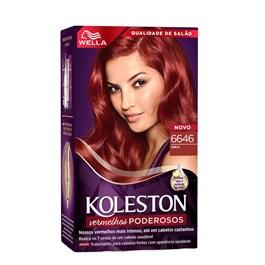Coloração Koleston Cereja 6646