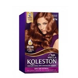 Coloração Koleston Chocolate Acobreado 674