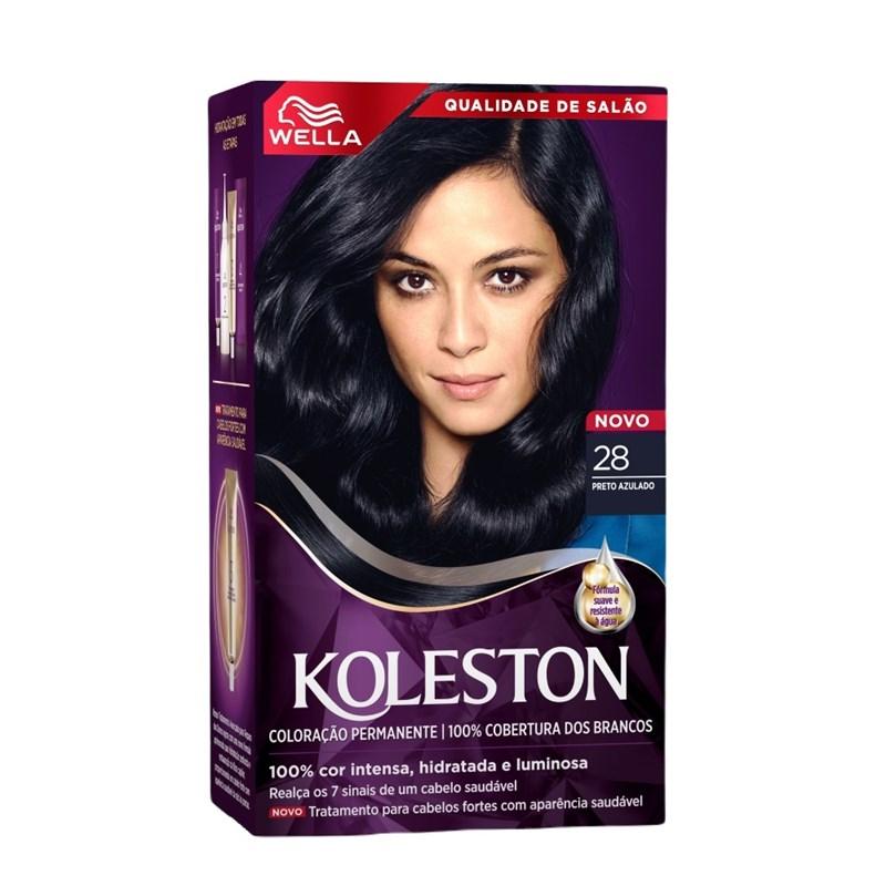 Coloração Koleston Preto Azulado 28