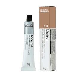 Coloração L'Oréal Majirel 7.8 Louro Marrom Natural Luminoso 50g