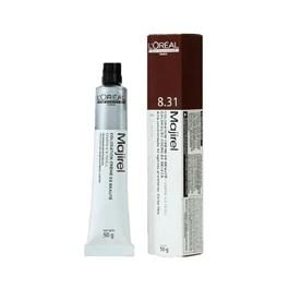 Coloração L'oréal Professionnel Majirel 50 gr Louro Claro Dourado Acinzentado 8.31