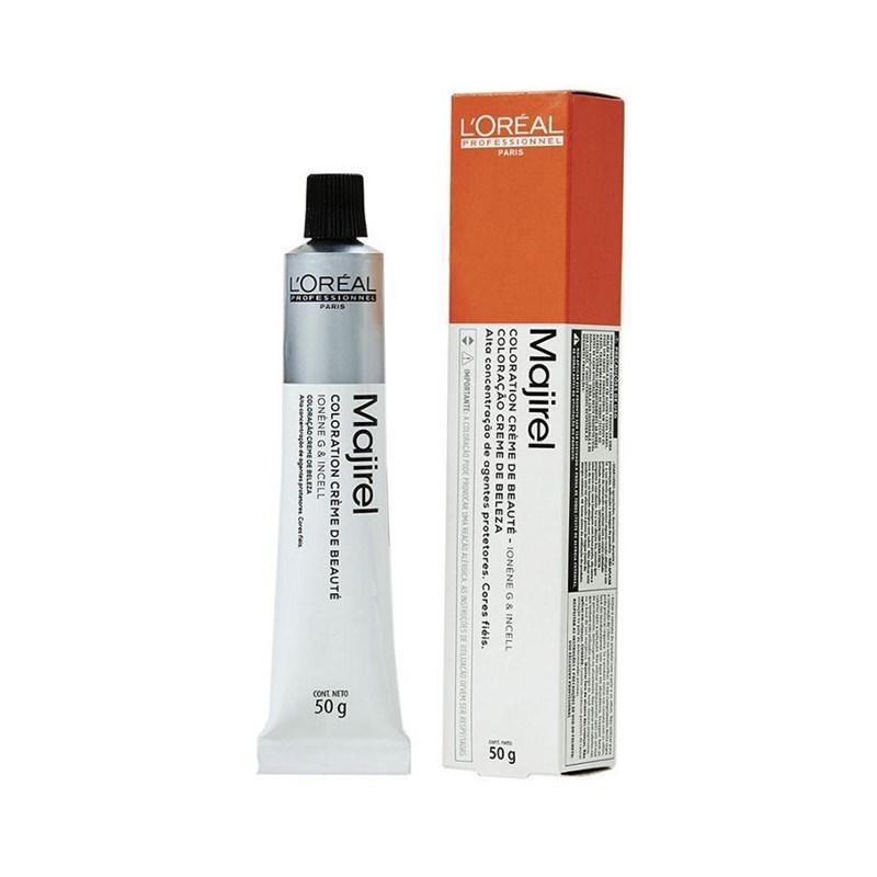 Coloração L'oréal Professionnel Majirel 50 gr Louro Escuro Acobreado Acinzentado 6.41