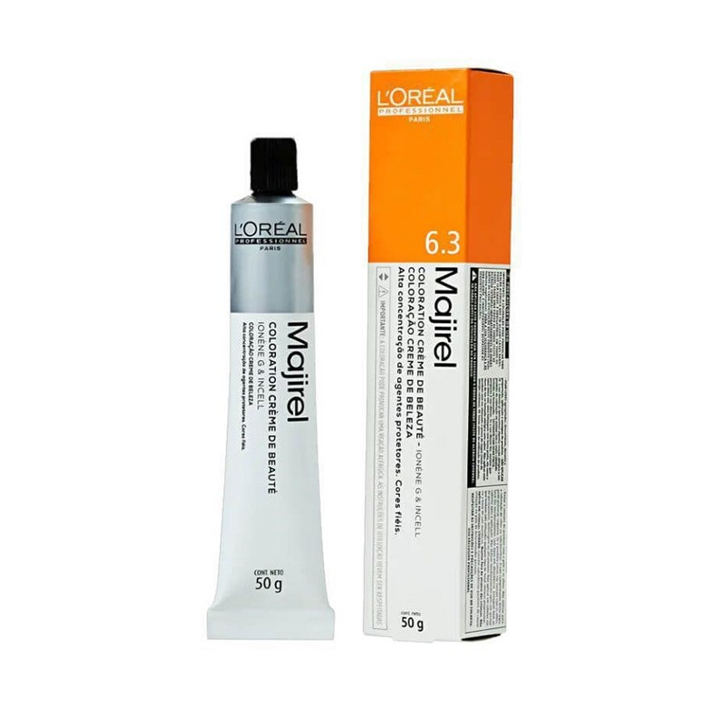 Coloração L'oréal Professionnel Majirel 50 gr Louro Escuro Dourado 6.3