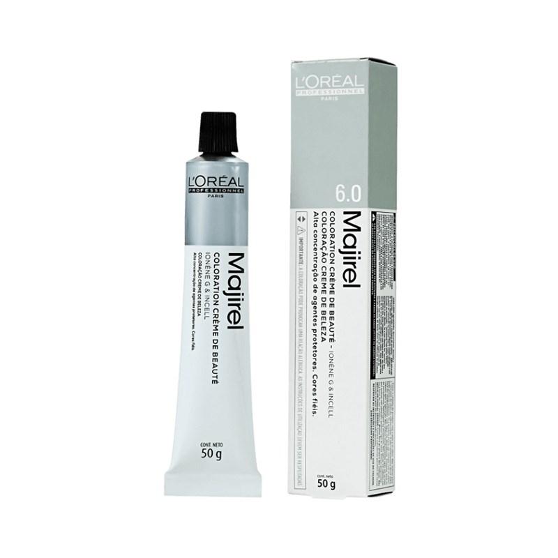 Coloração L'oréal Professionnel Majirel 50 gr Louro Escuro Natural Profundo 6.0
