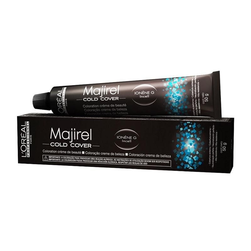 Coloração L'oréal Professionnel Majirel Cold Cover 50 gr Louro Escuro Acinzentado 6.1