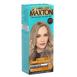 Coloração Maxton 10.1 Louro Cinza Claríssimo 50g