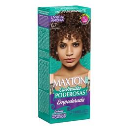 Coloração Maxton Free Cacheadas Poderosas Chocolate 6.7