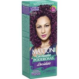 Coloração Maxton Free Cacheadas Poderosas Marsala 8.26