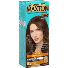 Coloração Maxton Kit Econômico Castanho Claro Dourado 5.3