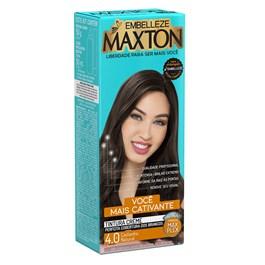 Coloração Maxton Kit Econômico Castanho Natural 4.0