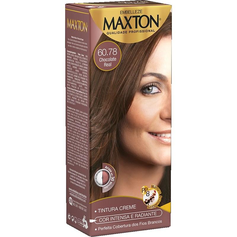 Coloração Maxton Kit Econômico Chocolate Real 60.78