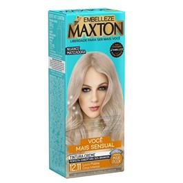Coloração Maxton Kit Econômico Cinza Intenso 12.11