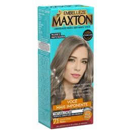 Coloração Maxton Kit Econômico Louro Cinza Médio 7.1