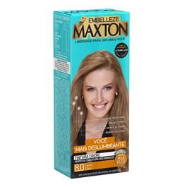 Coloração Maxton Kit Econômico Louro Claro 8.0