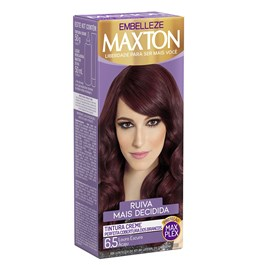 Coloração Maxton Kit Econômico Louro Escuro Acaju 6.5