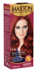 Coloração Maxton Kit Econômico Louro Médio Vermelho Intenso 7.66