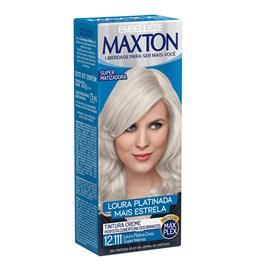 Coloração Maxton Kit Econômico Louro Platina Cinza Super Intenso 12.111