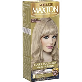 Coloração Maxton Kit Econômico Louro Super Claro Prata 11.11