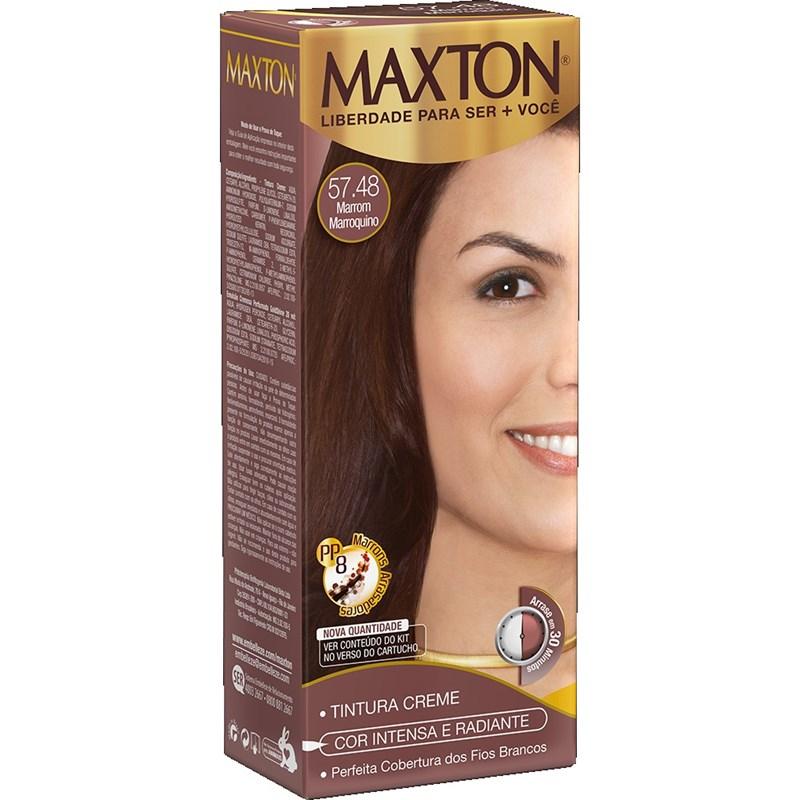 Coloração Maxton Kit Econômico Marrom Marroquino 57.48