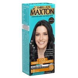 Coloração Maxton Kit Econômico Preto 1.0