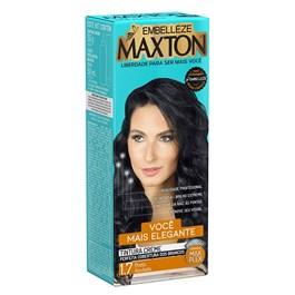 Coloração Maxton Kit Econômico Preto Azulado 1.7
