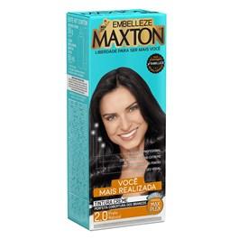 Coloração Maxton Kit Econômico Preto Natural 2.0