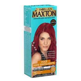 Coloração Maxton Kit Econômico Vermelho Fúcsia 7.6