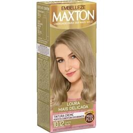 Coloração Maxton Loura Mais Delicada Louro Nude 10.12