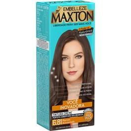 Coloração Maxton Morena Mais Inovadora Marrom Acizentado 6.81
