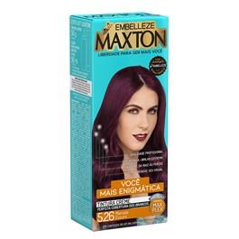 Coloração Maxton Ruiva Mais Enigmática Marsala Escuro 5.26