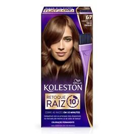 Coloração Permanente Koleston Retoque Raiz Chocolate 67