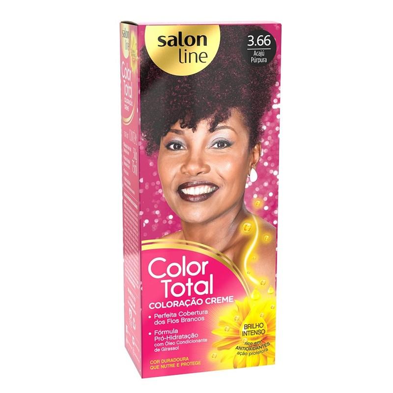 Coloração Salon Line Color Total Acaju Purpura 3.66