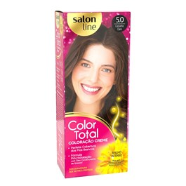 Coloracão Salon Line Color Total Castanho Claro 5.0