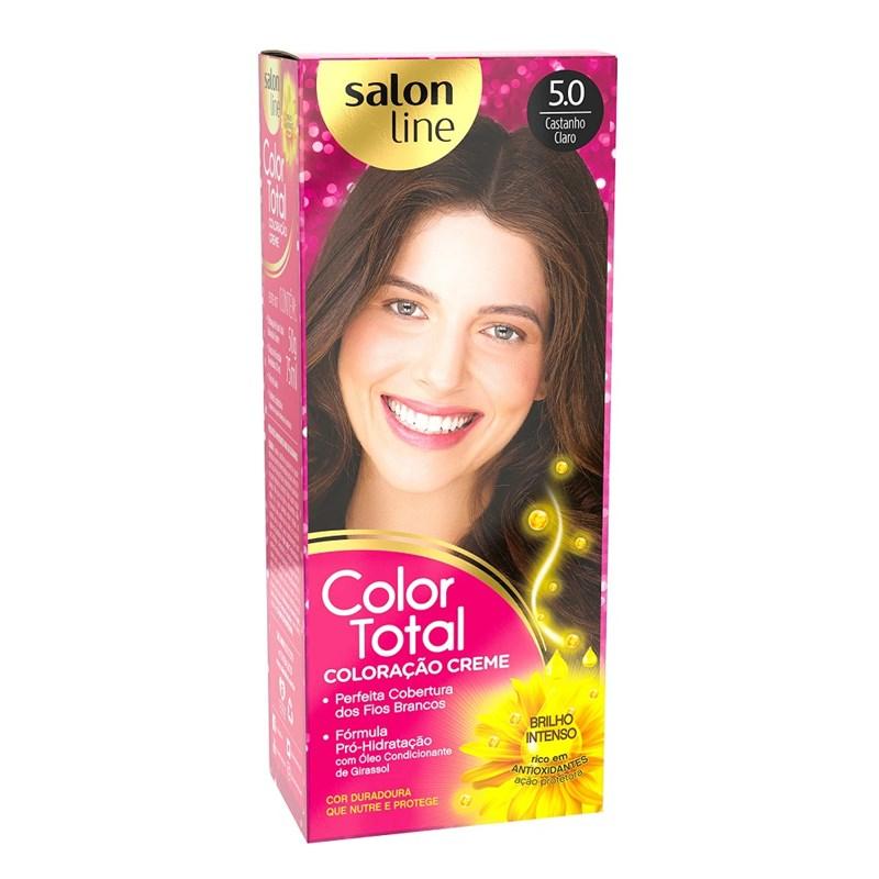 Coloração Salon Line Color Total Castanho Claro 5.0