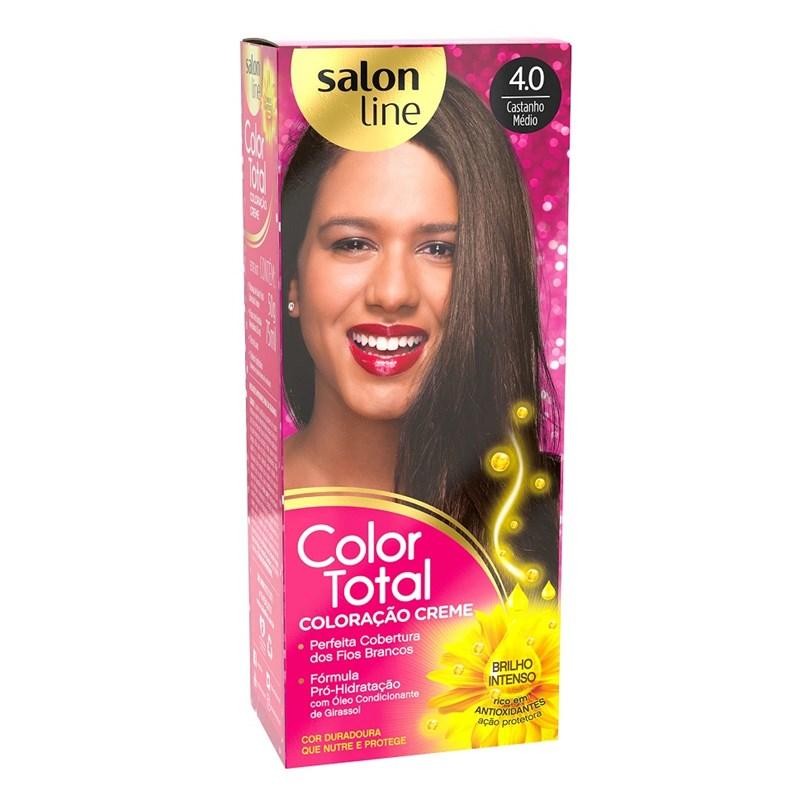 Coloracão Salon Line Color Total Castanho Medio 4.0