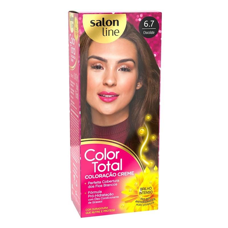 Coloração Salon Line Color Total Chocolate 6.7