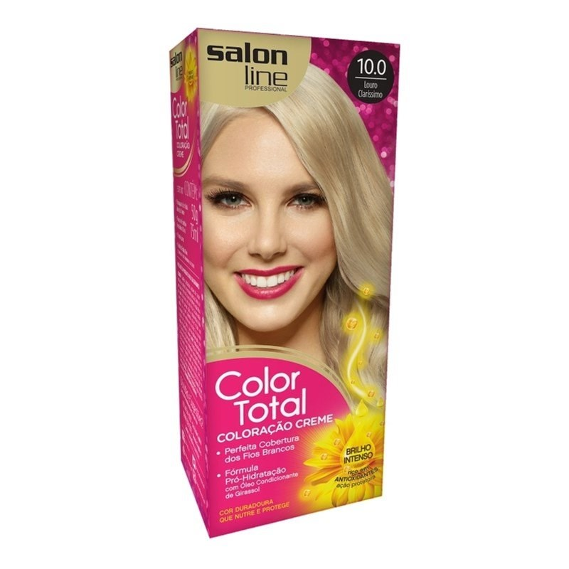 Coloração Salon Line Color Total Louro Clarissimo 10.0
