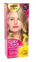 Coloração Salon Line Color Total Louro Claro 8.0