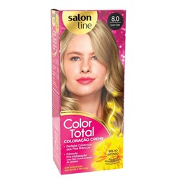 Coloração Salon Line Color Total Louro Claro 8.0