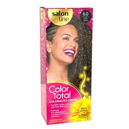 Coloracão Salon Line Color Total Louro Escuro 6.0