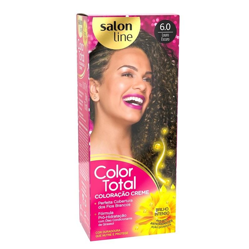 Coloracão Salon Line Color Total Louro Escuro 6.0