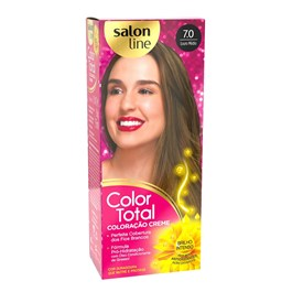 Coloração Salon Line Color Total Louro Medio 7.0