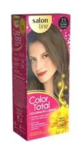 Coloração Salon Line Color Total Louro Médio Acinzentado 7.1