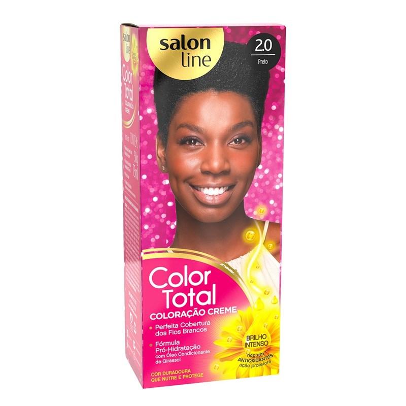 Coloração Salon Line Color Total Preto 2.0