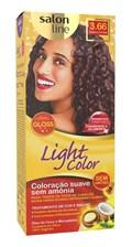 Coloração Salon Line Light Color Bordeaux Profundo 3.66