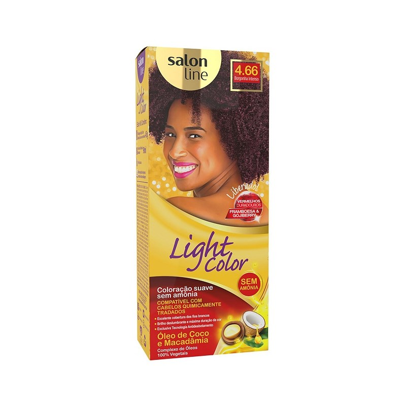 Coloração Salon Line Light Color Borgonha Intenso 4.66